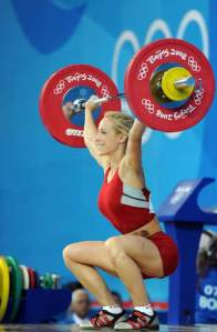 Female Overhead Squat