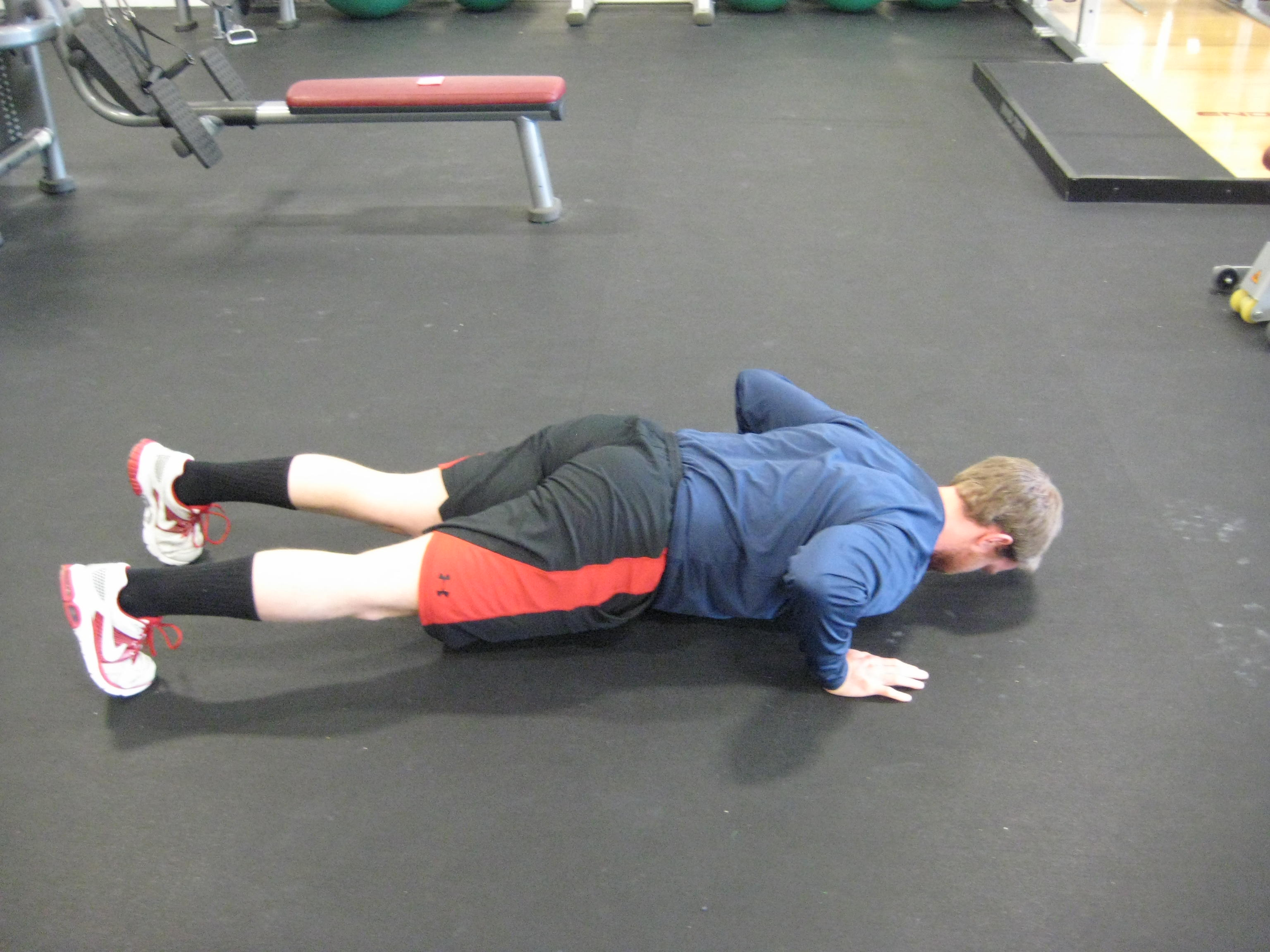 Push-Up with Anterior Scapular Tilt