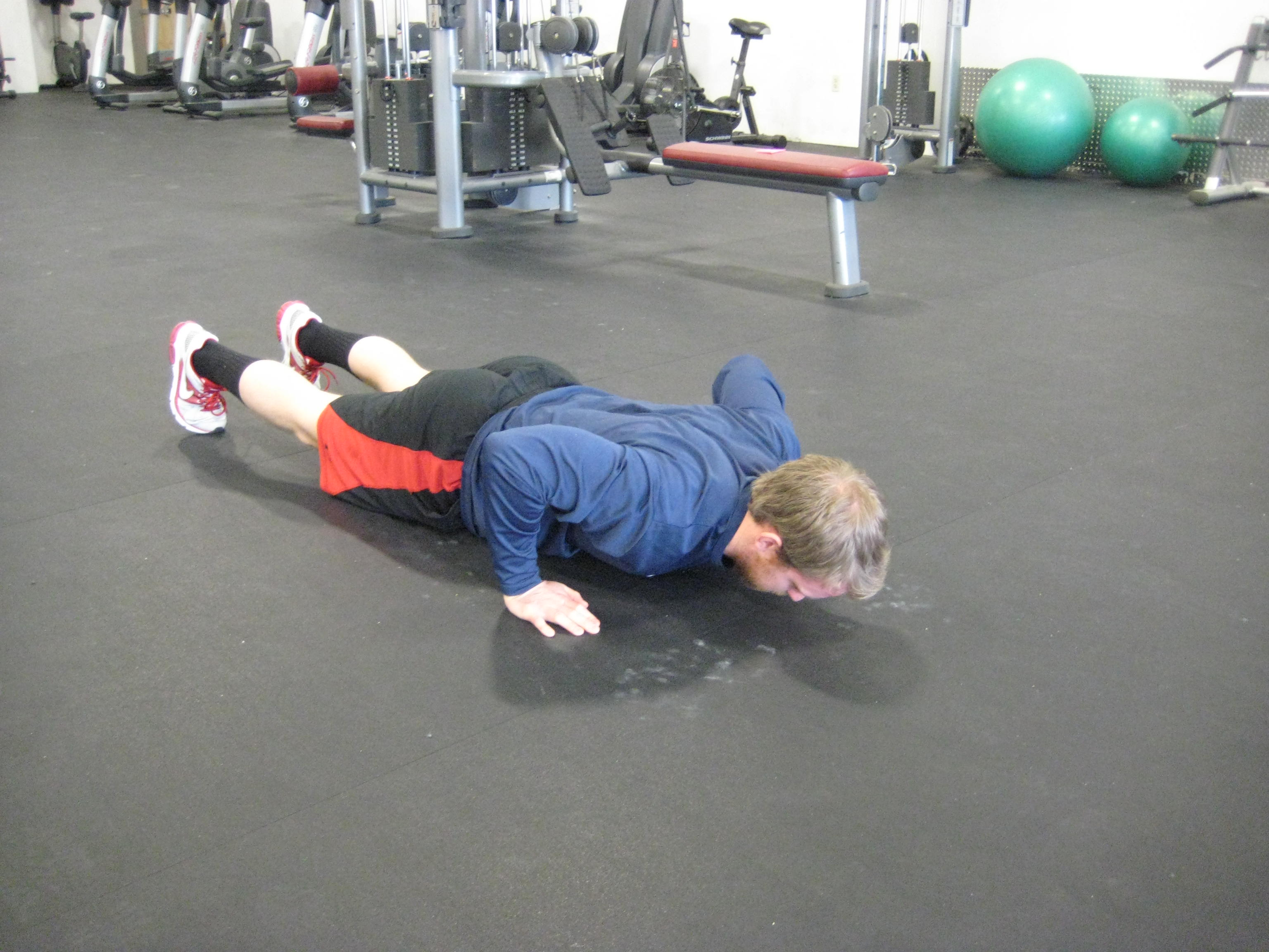 Push-Up with Shrug