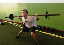 Hockey Training-Lateral Squat