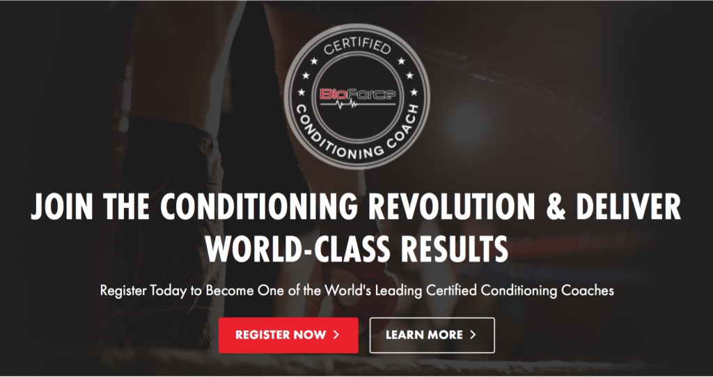 Certified Conditioning Coach
