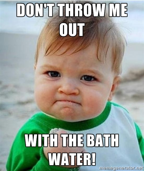 Baby Bathwater