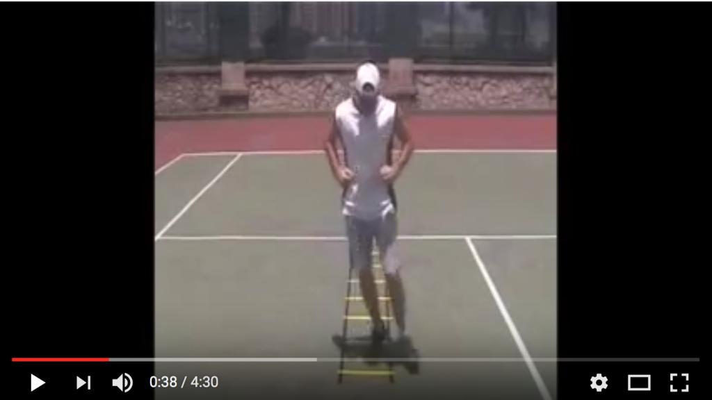 Quick Feet Training Eye Position