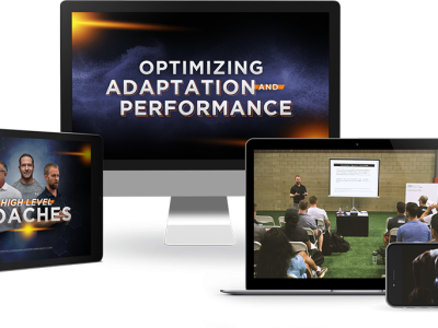 Optimizing Adaptation & Performance is Live!